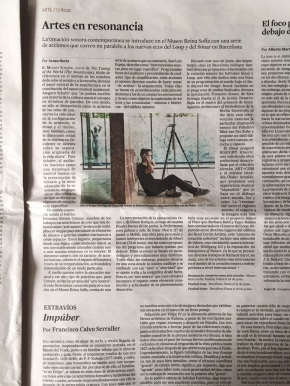 Spanish newspaper 'El País' on sound art.