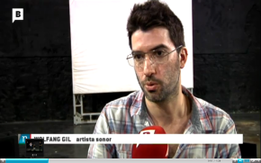 Workshop Non-linear methods for computer-assisted compositions covered by Barcelona TV